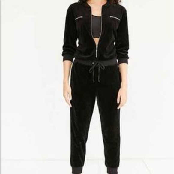 79d3c007604 Juicy Couture Other - Juicy Couture Black Label Velour Jumpsuit
